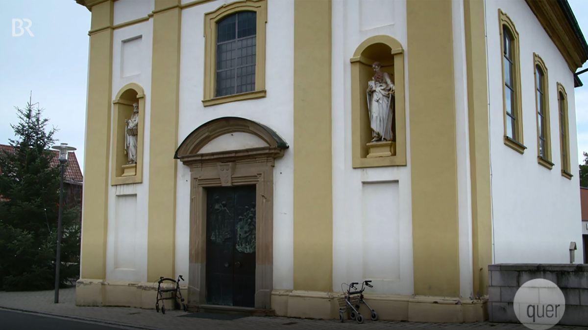 Kirche von Oberschwappach