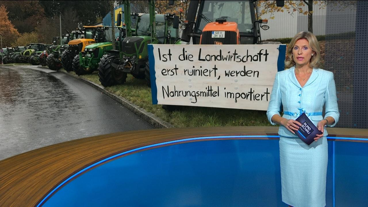 Moderatorin Anouschka Horn im Rundschau-Magazin-Studio