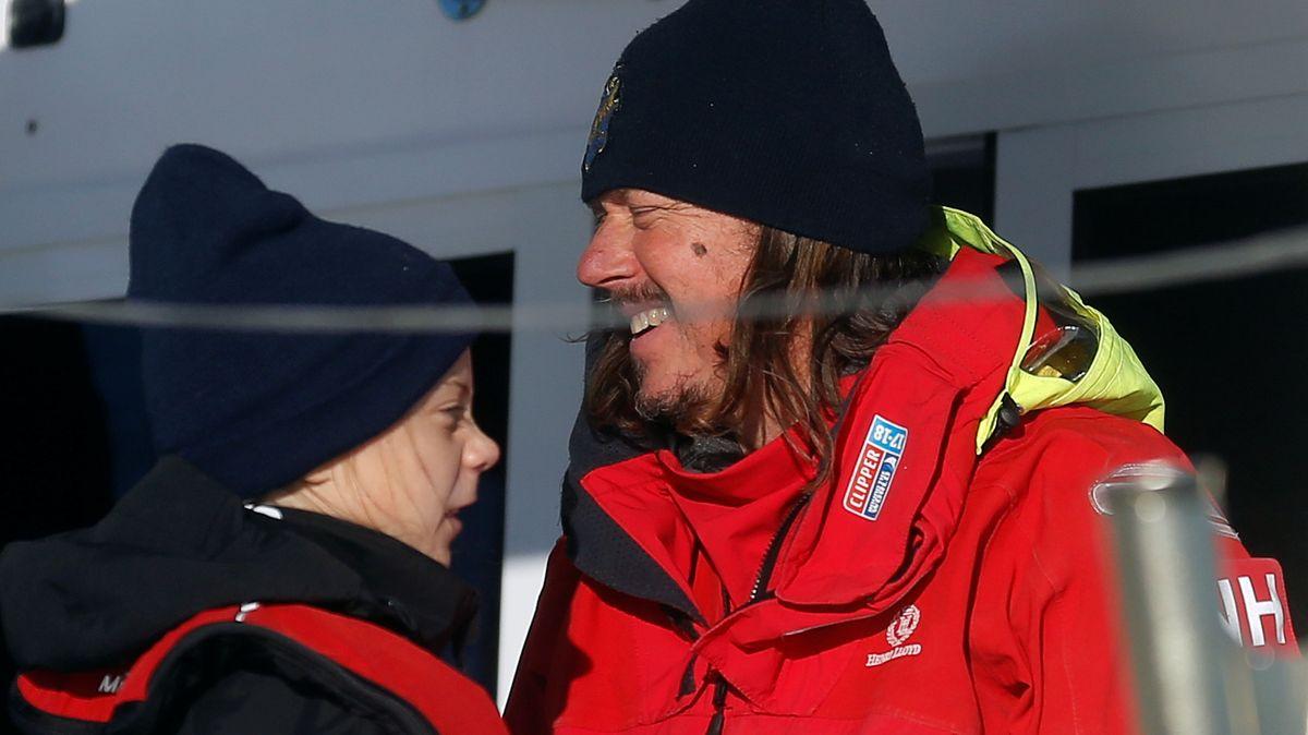 Greta und ihr Vater überquerten den Atlantik