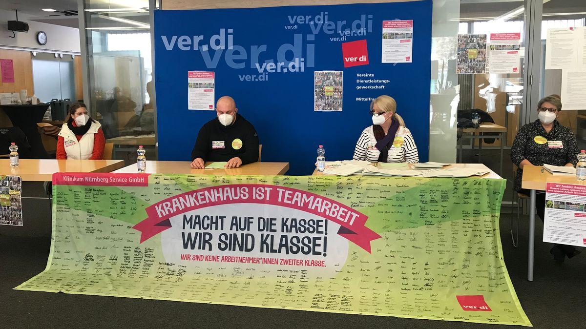 Warnstreik am Klinikum Nürnberg