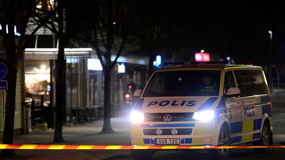 Schwedischer Polizeiwagen