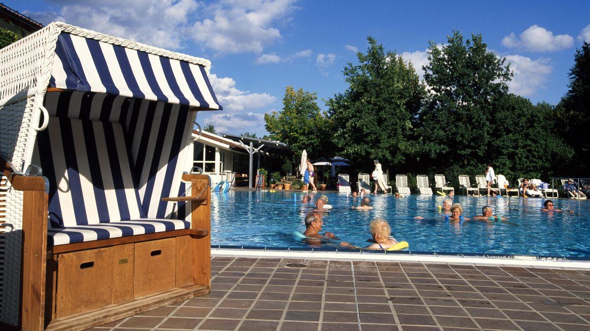 Schwimmbereich der Therme in Bad Birnbach (Archivbild)