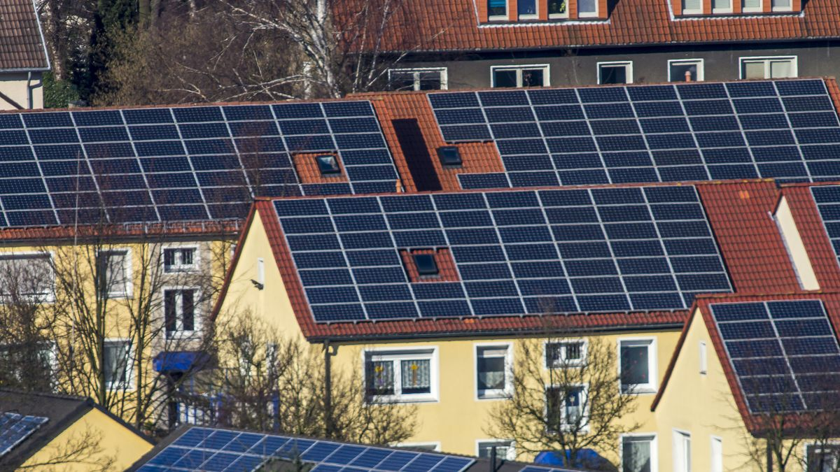 Photovoltaikanlagen auf Wohnhäusern