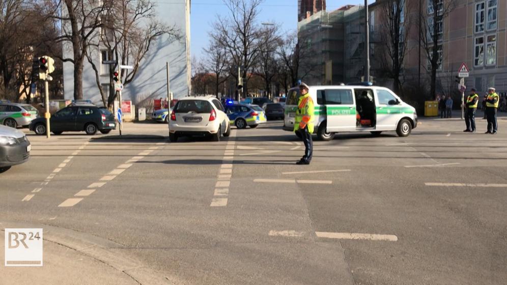 Zwei Tote in der Münchner Au: Hier erste Bilder vom Polizeieinsatz   Bild:BR