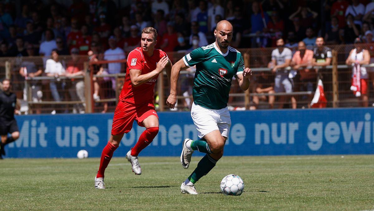 Spielszene TSV Havelse - 1. FC Schweinfurt 05