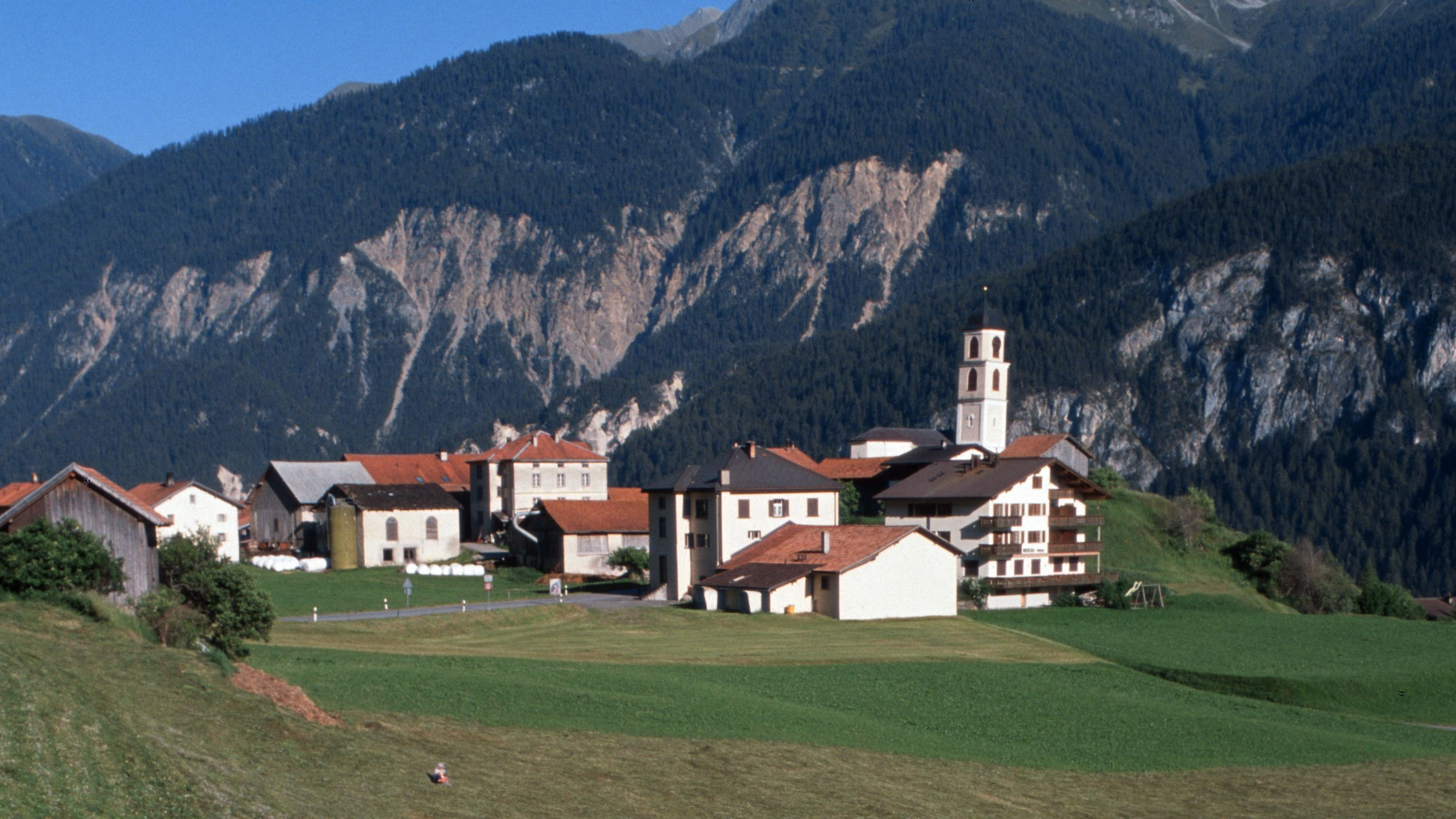 Brienz in Graubünden, Schweiz