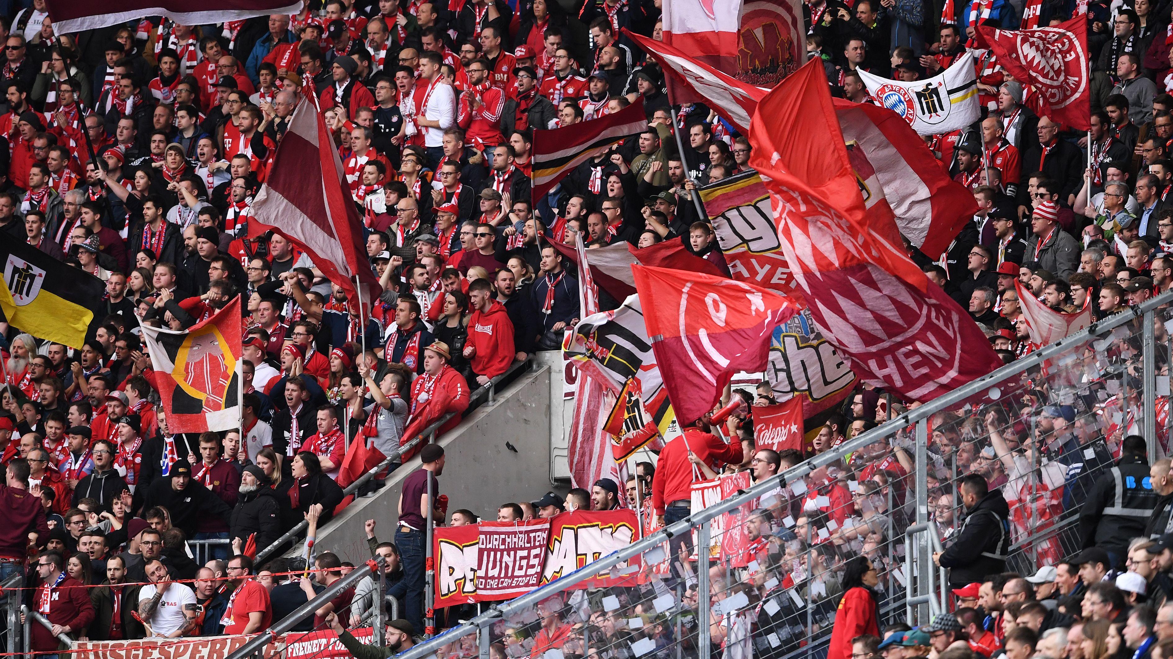 FC-Bayern-Fans in Hoffenheim.