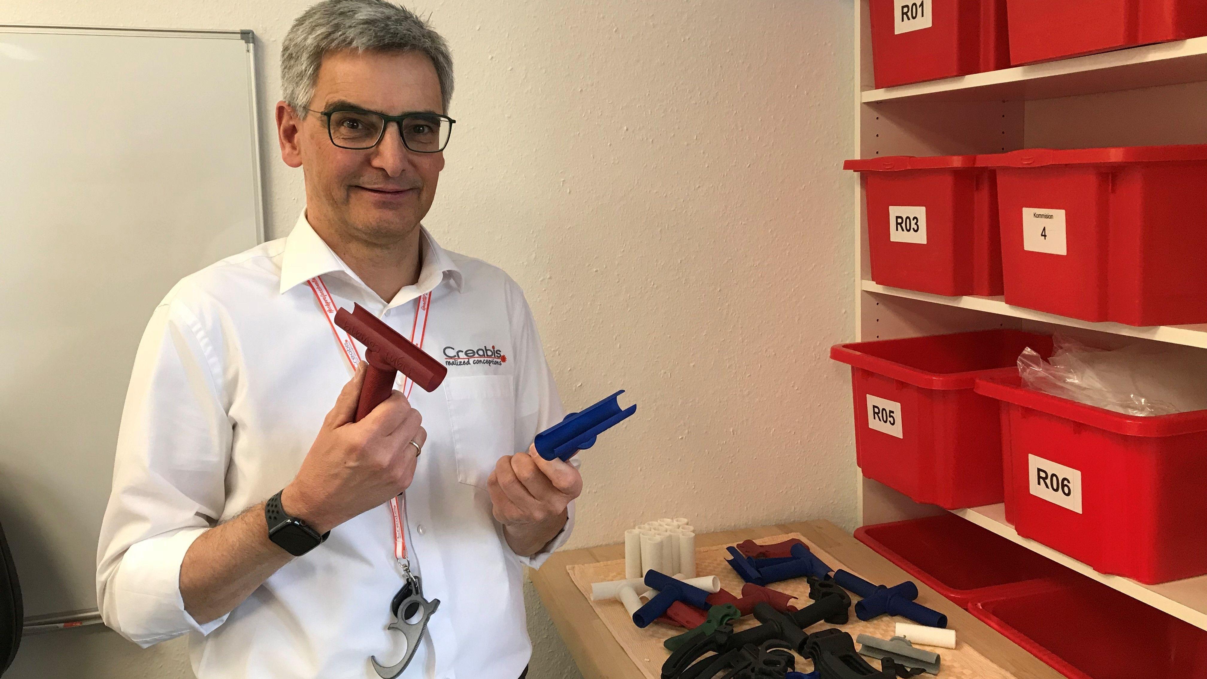 Ralf Deuke, Firmenchef von Creabis