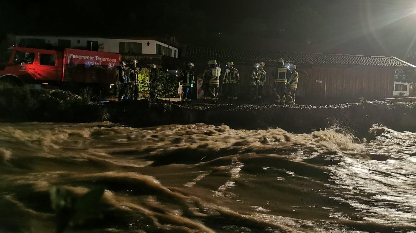 Dammbruch konnte in Rottach-Egern verhindert werden