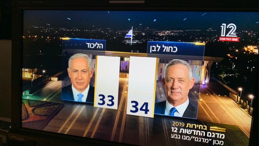 Israel-Wahl: Parteien von Netanjahu und Gantz fast gleichauf