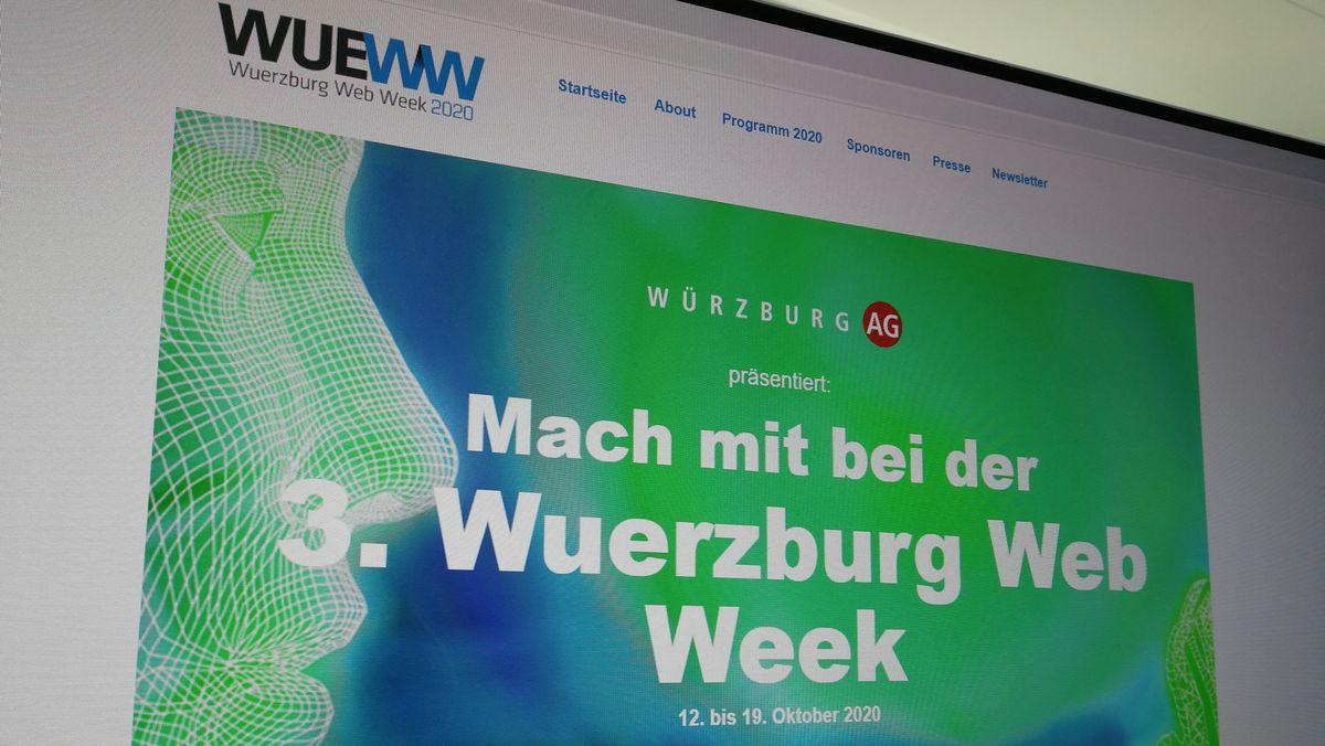 Website der Würzburg Web Week