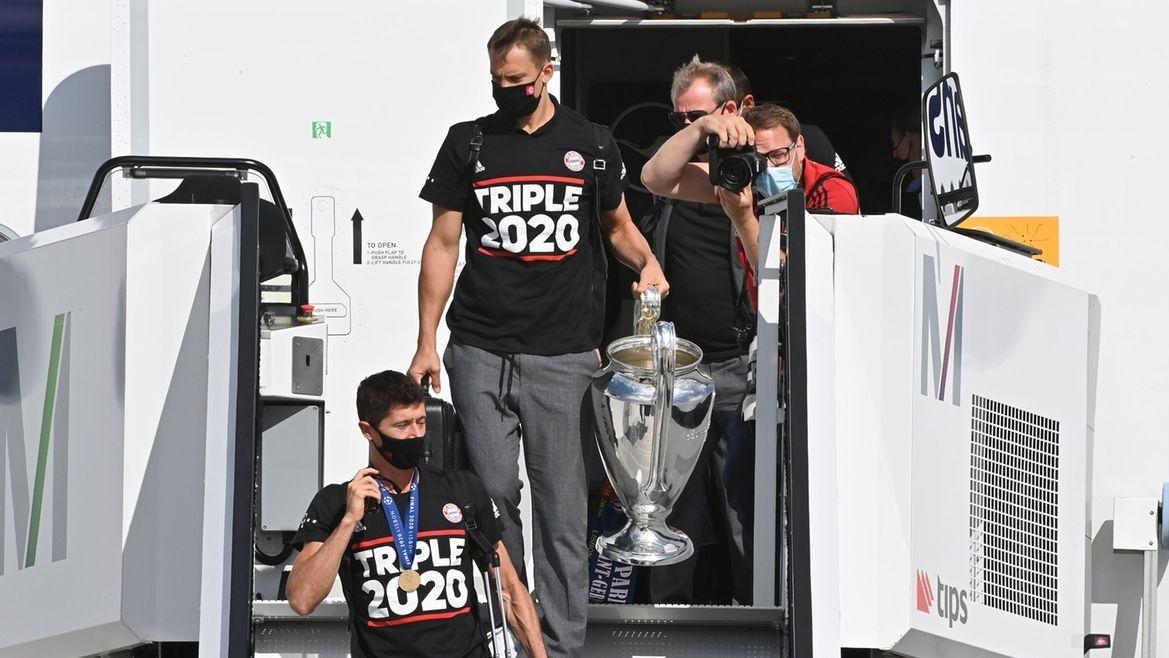 Empfang FC Bayern München