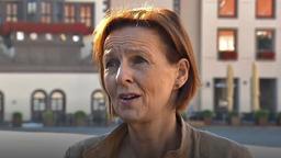 Die Schweinfurter Stadträtin Ulrike Schneider | Bild:BR