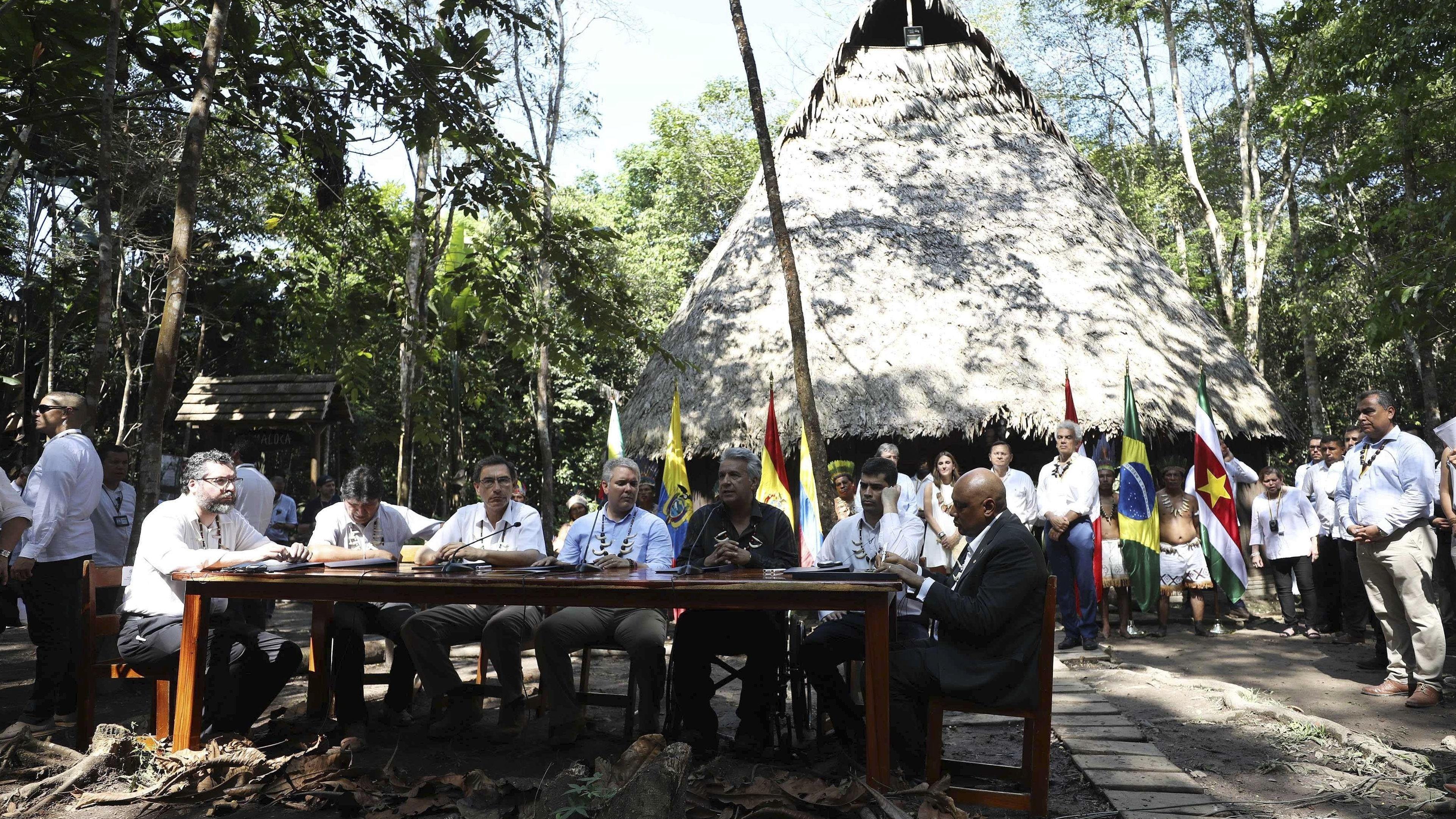 Amazonas-Gipfeltreffen
