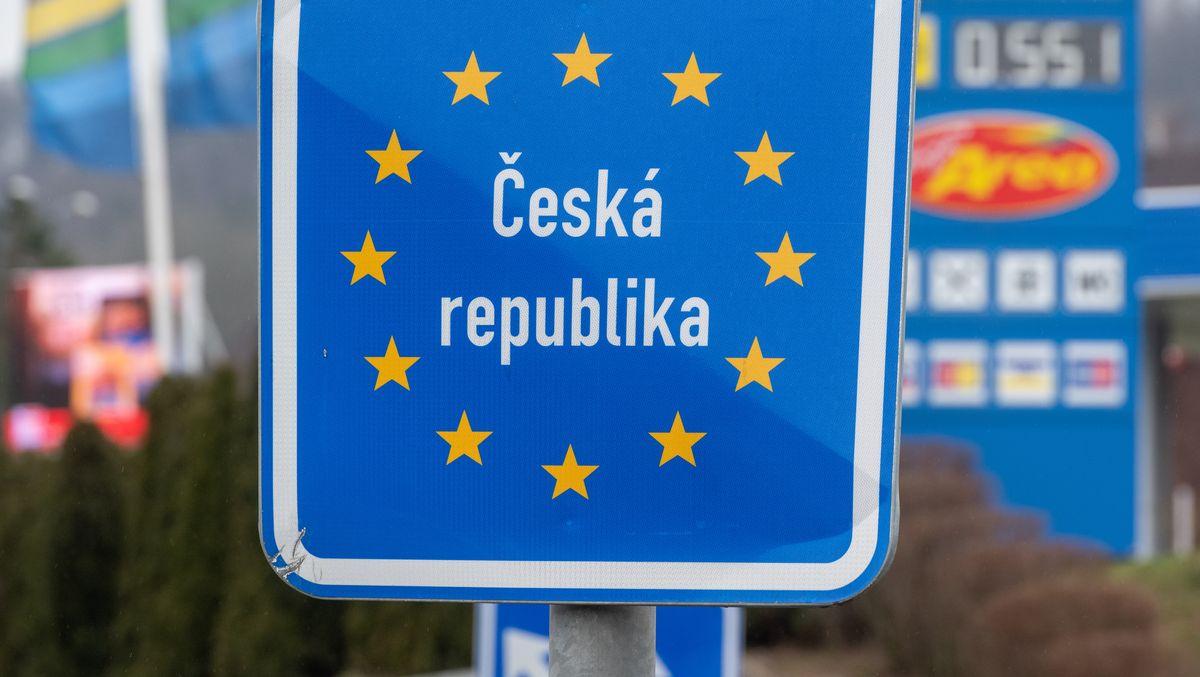 Tschechisch-bayerische Grenze bei Furth im Wald