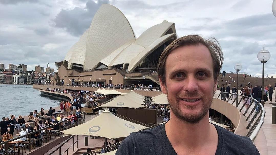 Jesus-Darsteller Frederik Mayet in Sydney