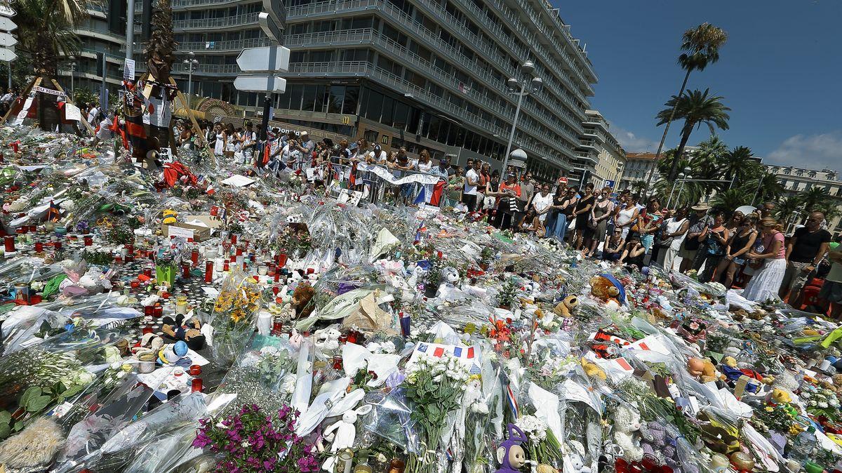 Archivbild vom 18.07.2016 - Trauer nach dem Terroranschlag in Nizza