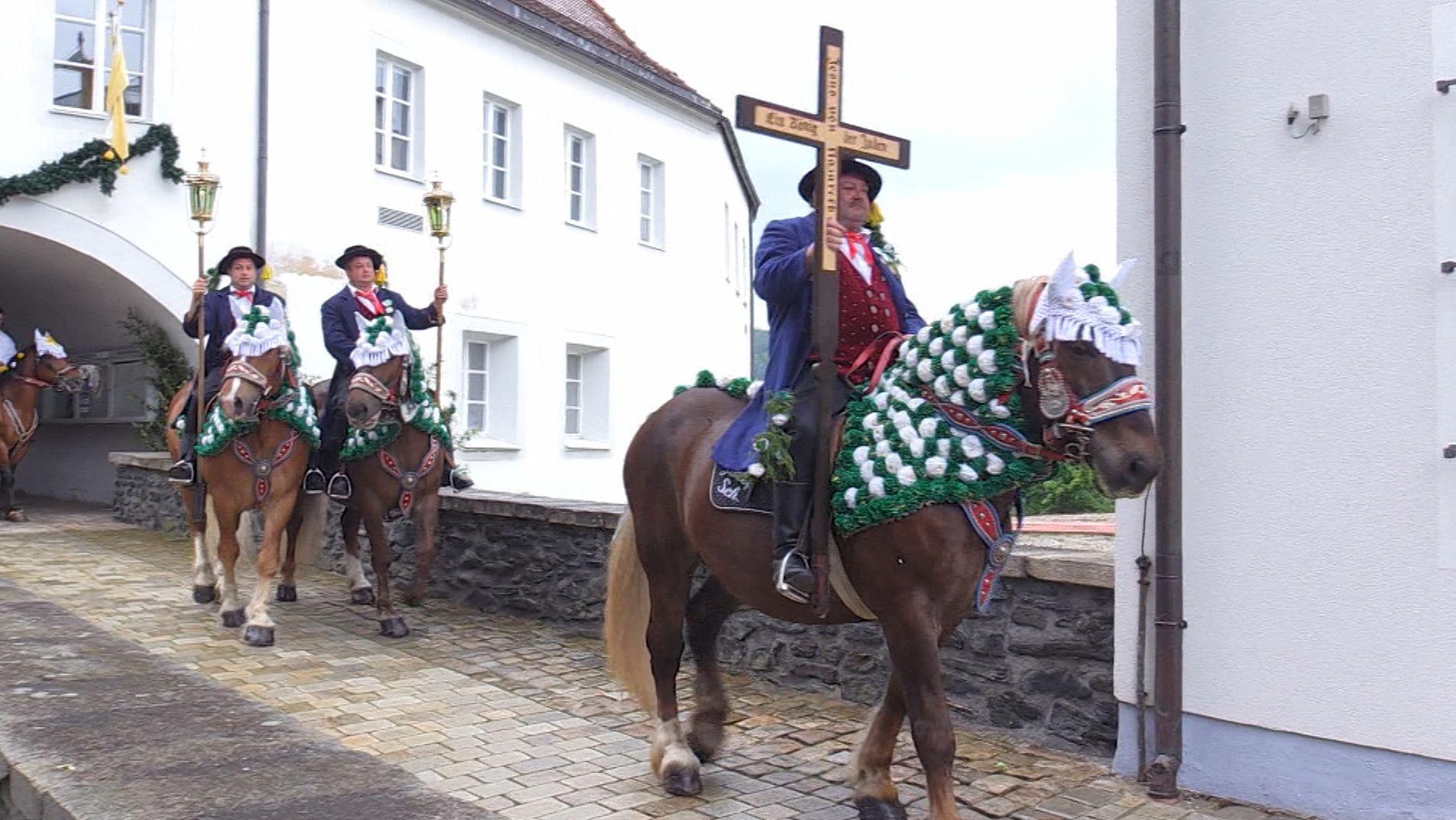 In Bad Kötzting in der Oberpfalz hat sich heute alles um Pferde gedreht.
