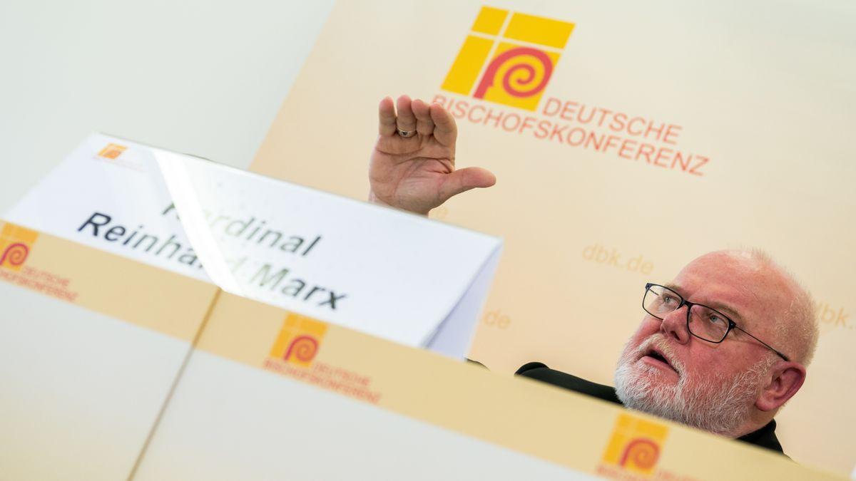 Kardinal Reinhard Marx, Vorsitzender der Deutschen Bischofskonferenz