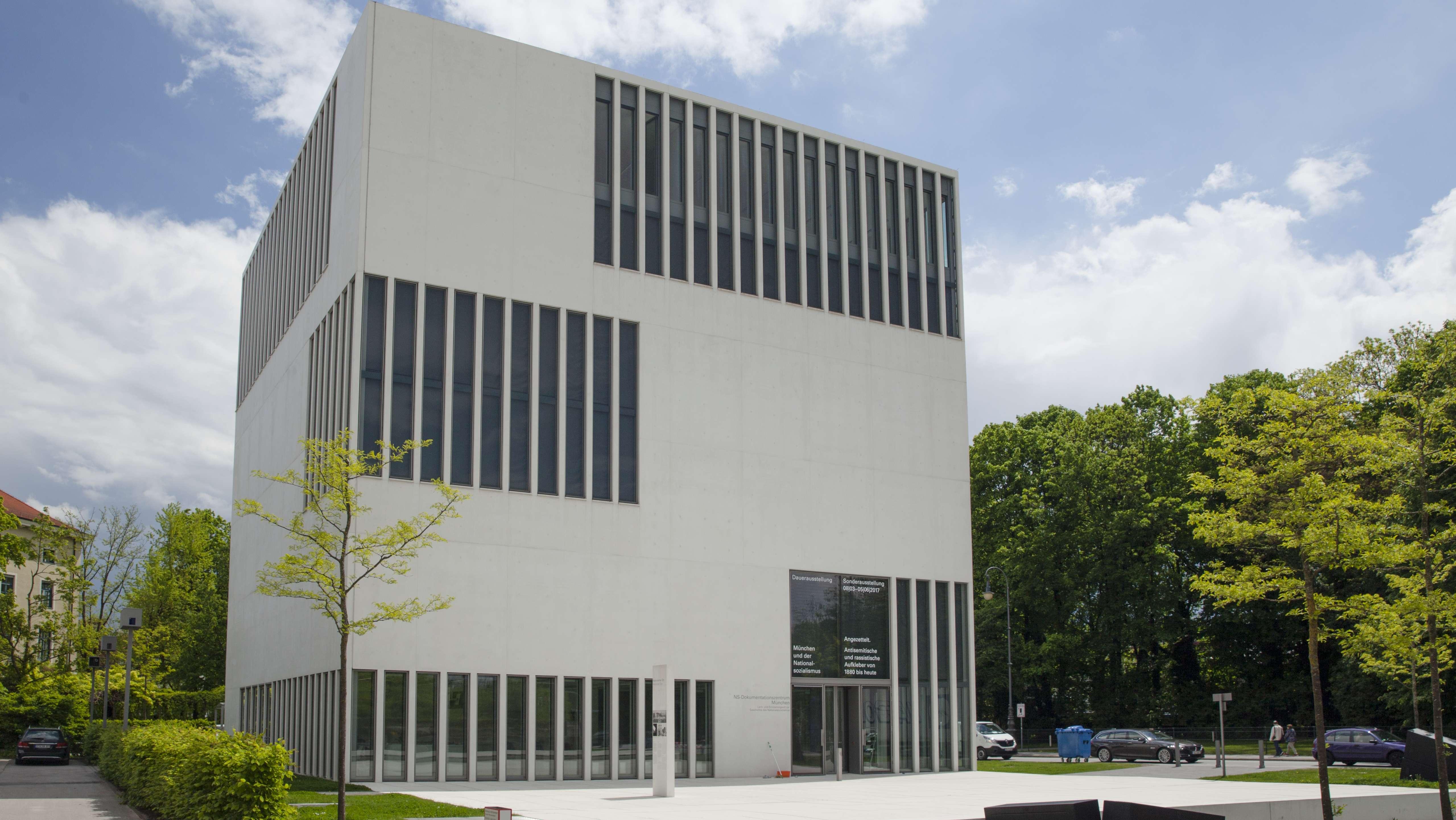 Das NS-Dokumentationszentrum am Max-Mannheimer-Platz