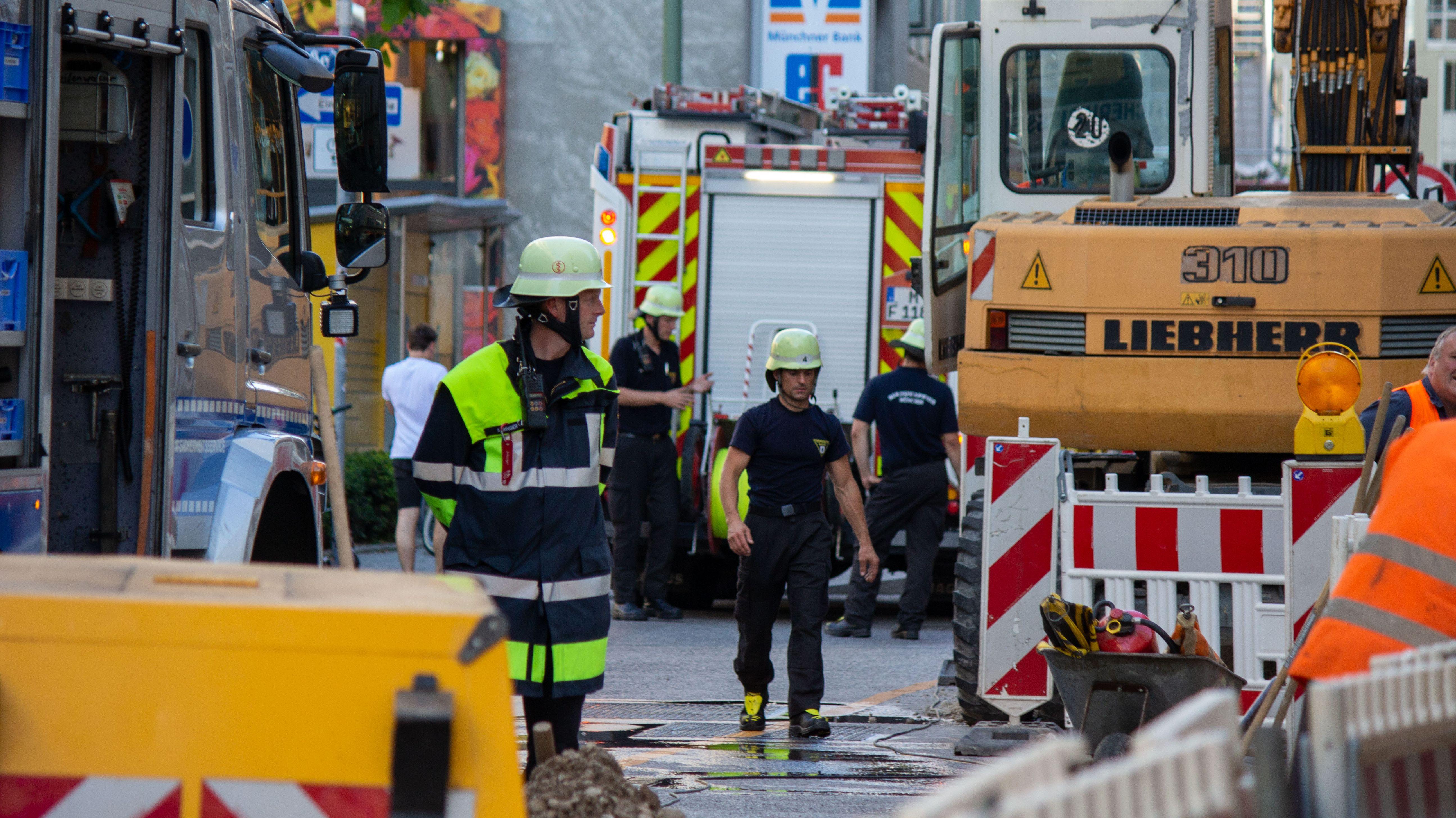 Feuerwehr-Einsatz nach Gasalarm in München