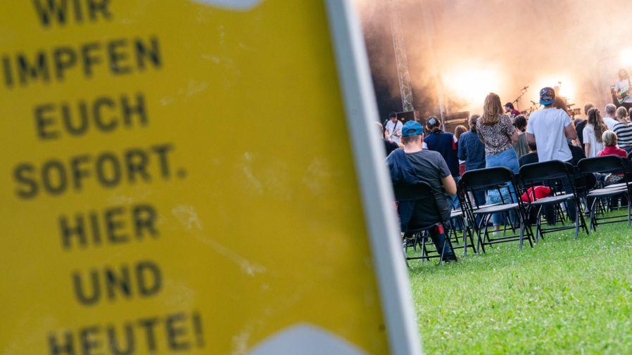 """Sonder-Impfaktion beim Open-Air-Festival """"Kulturinsel Wöhrmühle"""""""