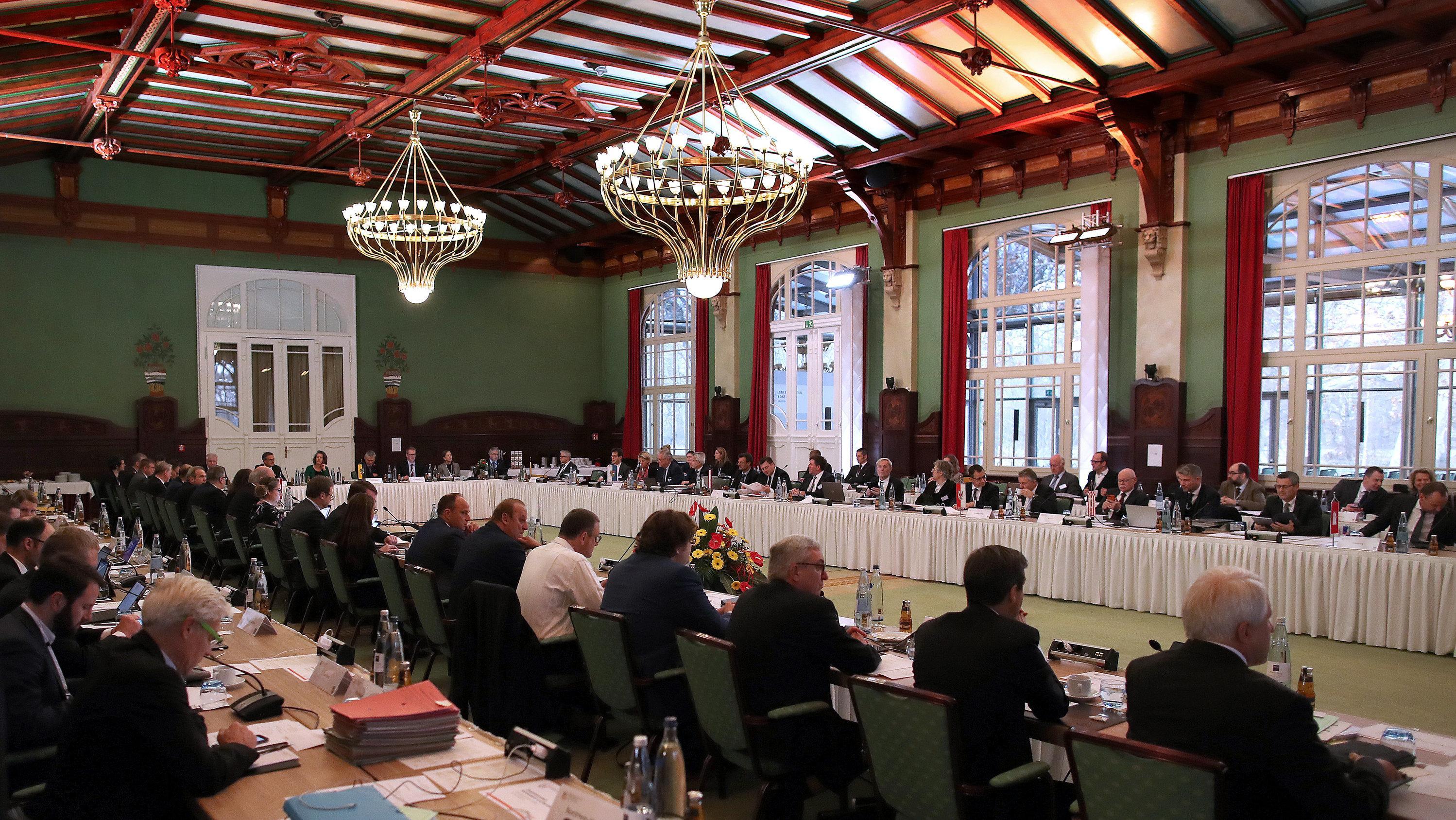 Die Innenministerkonferenz in Magdeburg