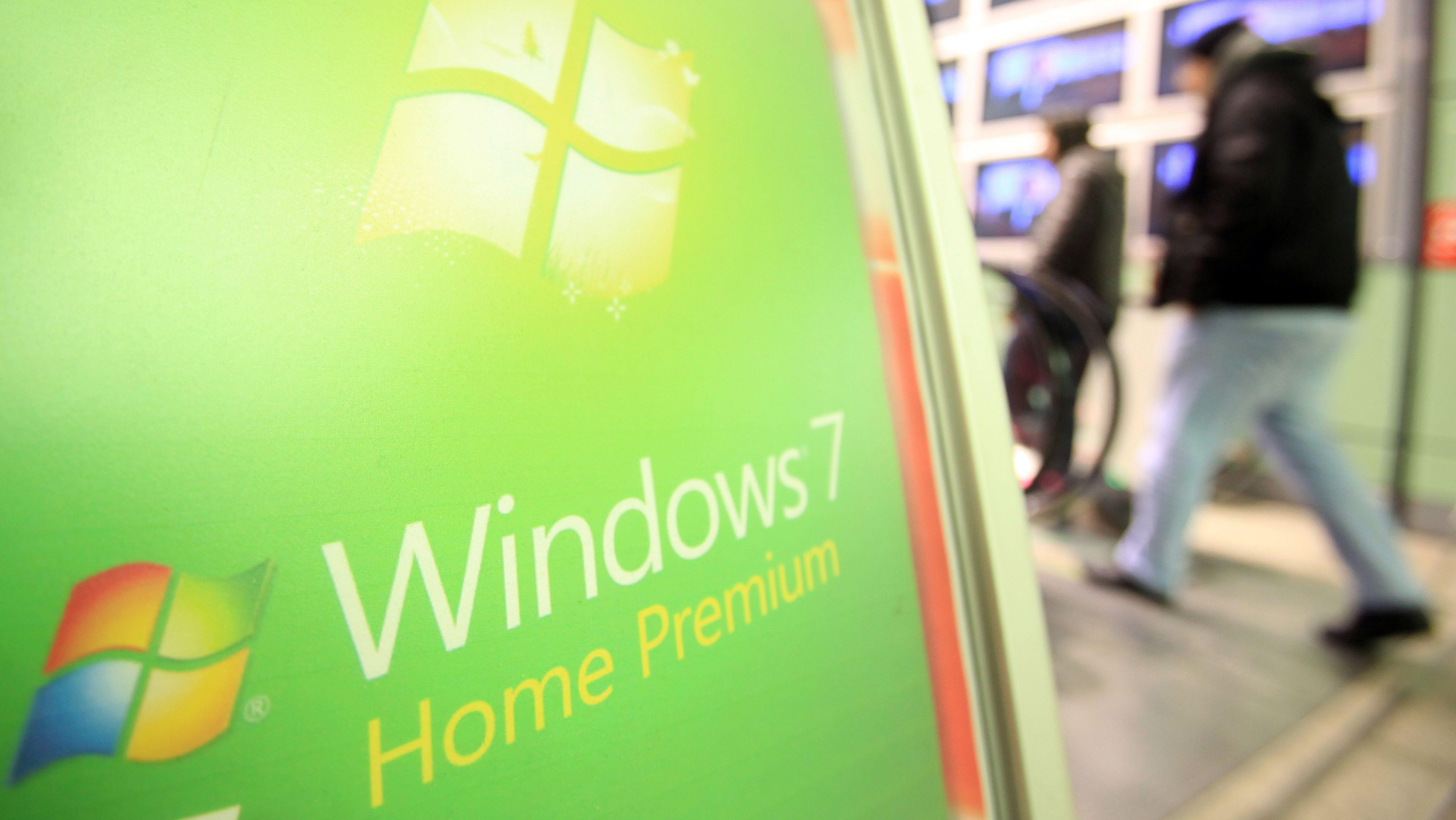 """Microsoft-Support endet Warnung vor der """"Zeitbombe"""" Windows 7"""