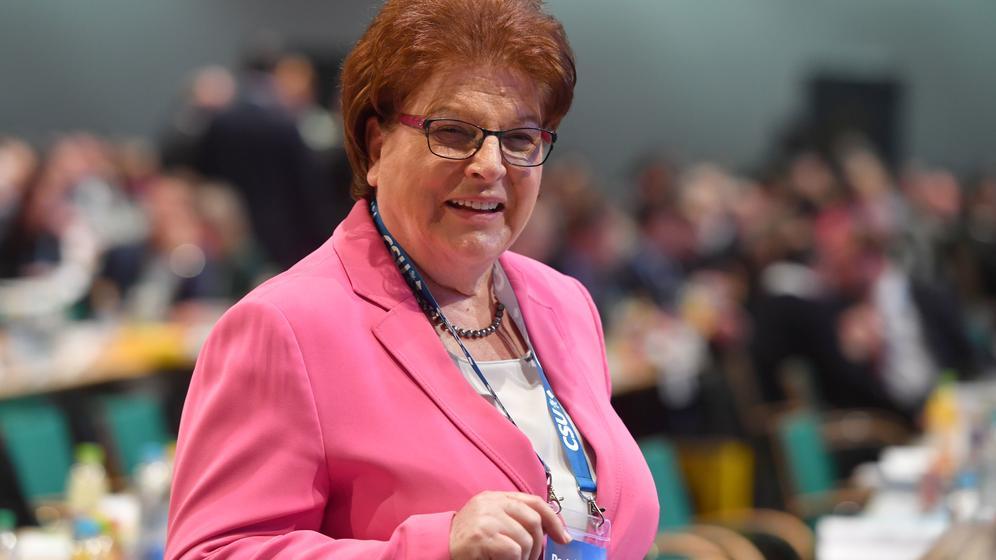 Für Barbara Stamm ist nach 40 Jahren Schluss im Landtag | Bild:picture alliance / SvenSimon