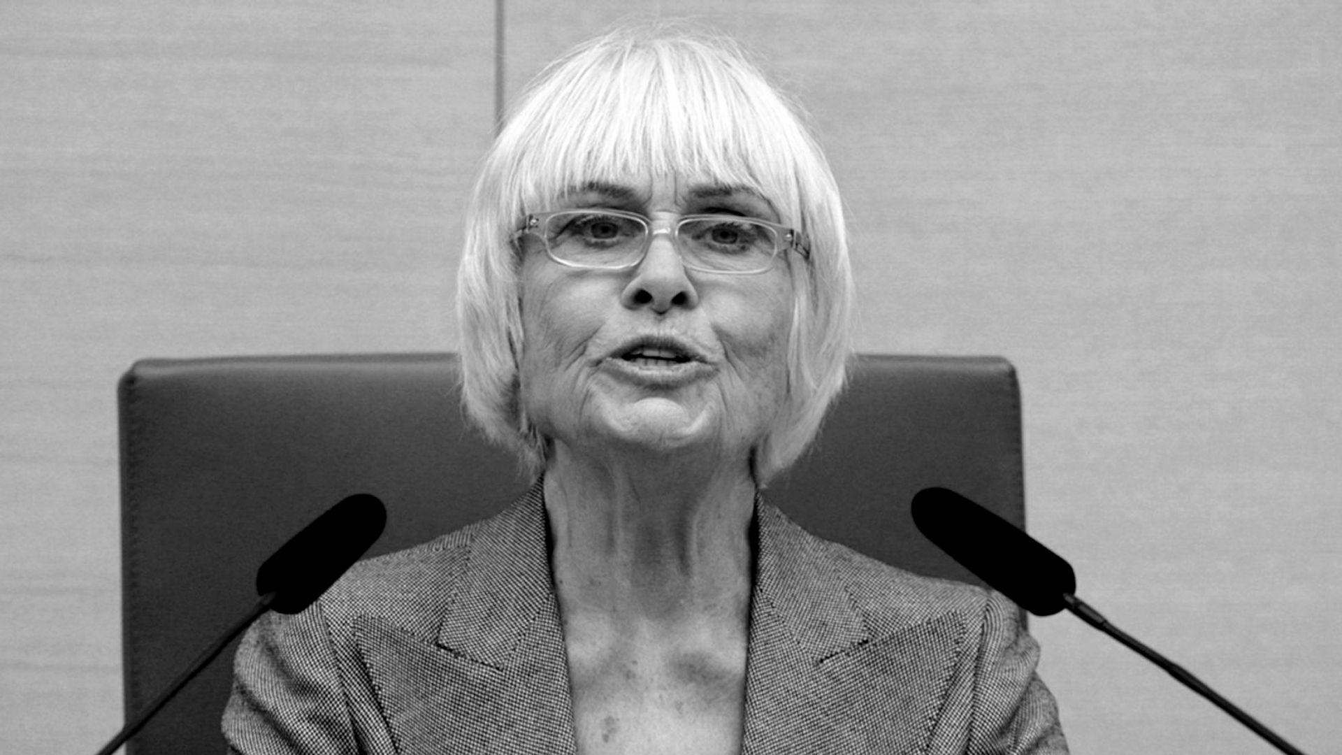 Barbara Rütting im Landtag