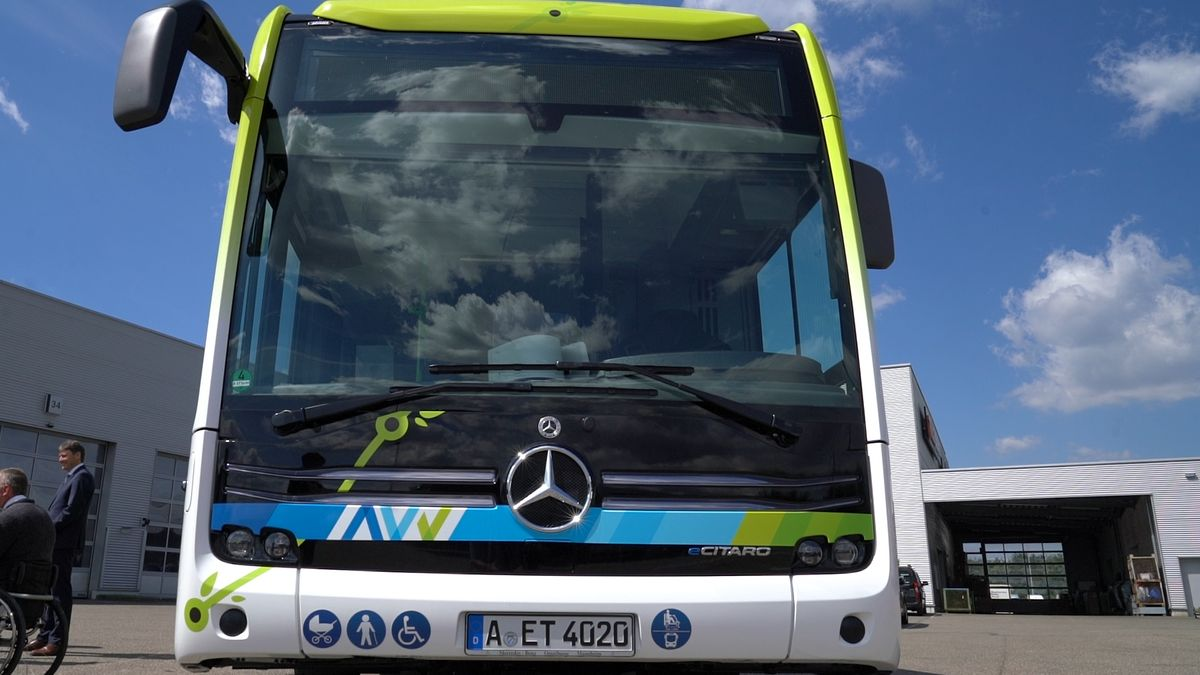 E-Bus in Augsburg