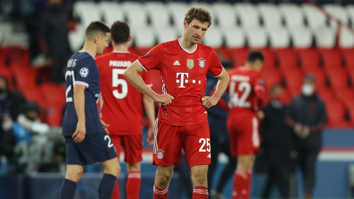 Thomas Müller nach dem Aus im Viertelfinale.