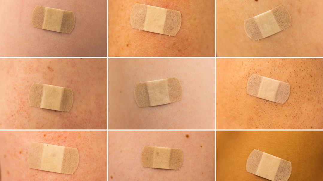 Symbolbild: Pflaster nach Impfung