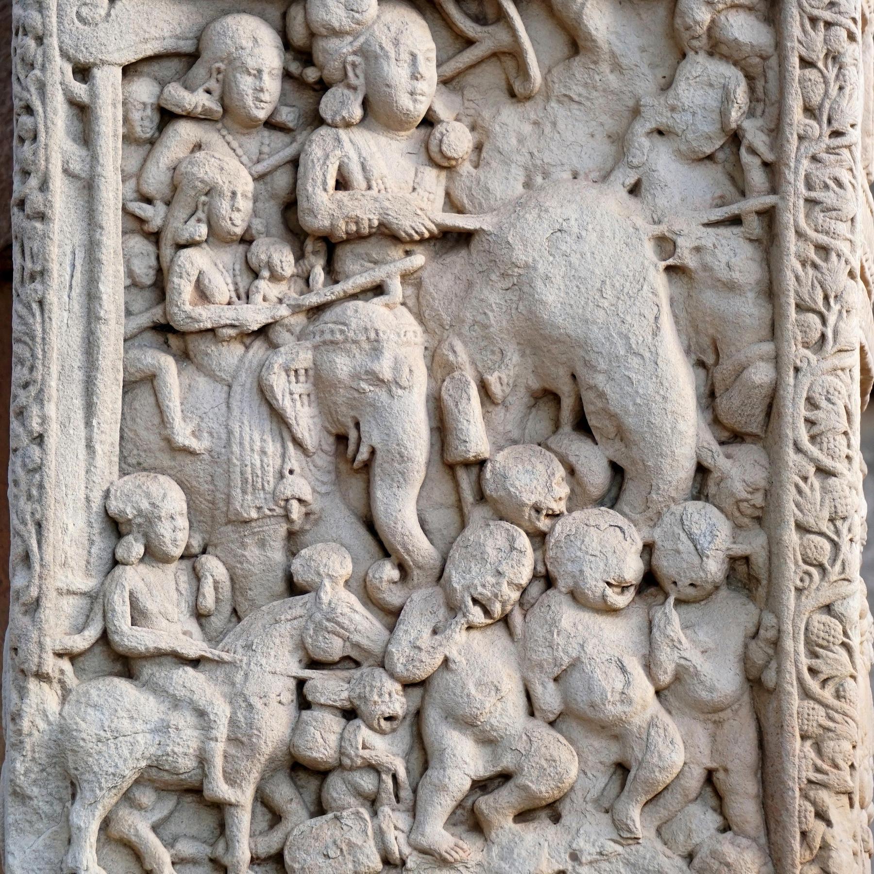 Ashoka - Erster buddhistischer Herrscher in Indien