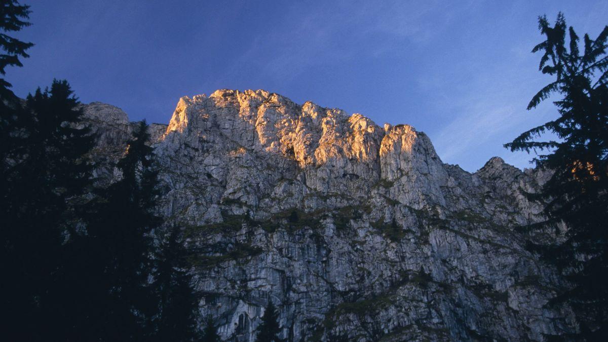 Die Benediktenwand in den Bayerischen Voralpen