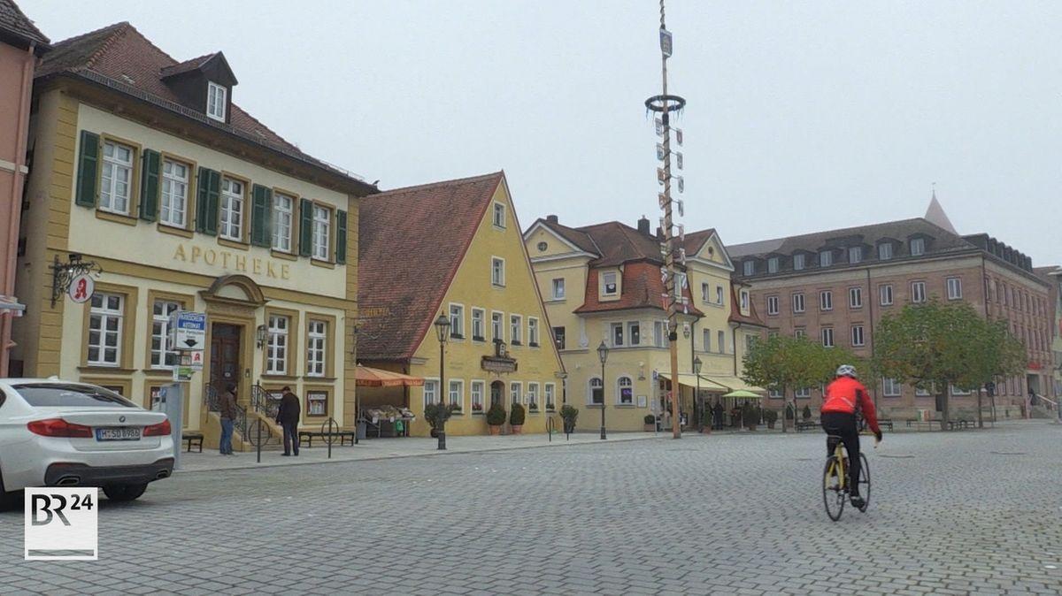 Innenstadt von Gunzenhausen