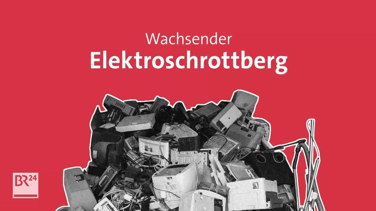 Globaler E-Waste-Monitor 2020: Wachsender Elektroschrottberg