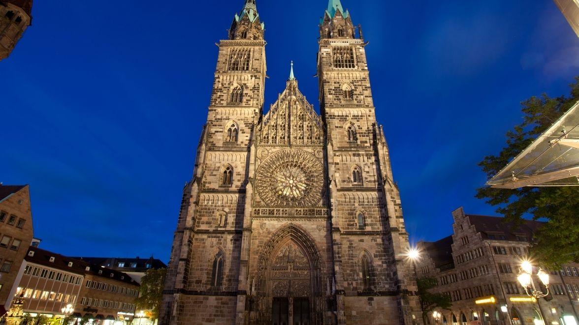 Evangelische St. Lorenzkirche in Nürnberg
