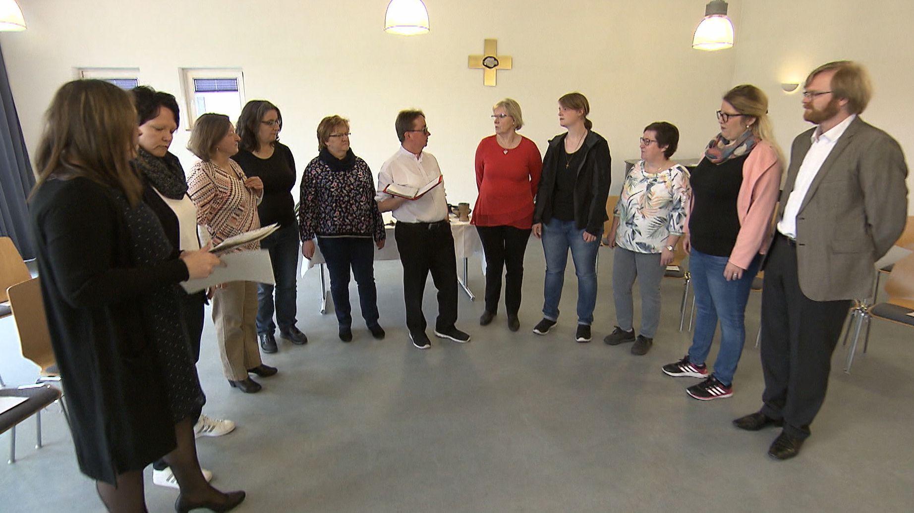 Frauen einer Pfarrei in Heroldsbach
