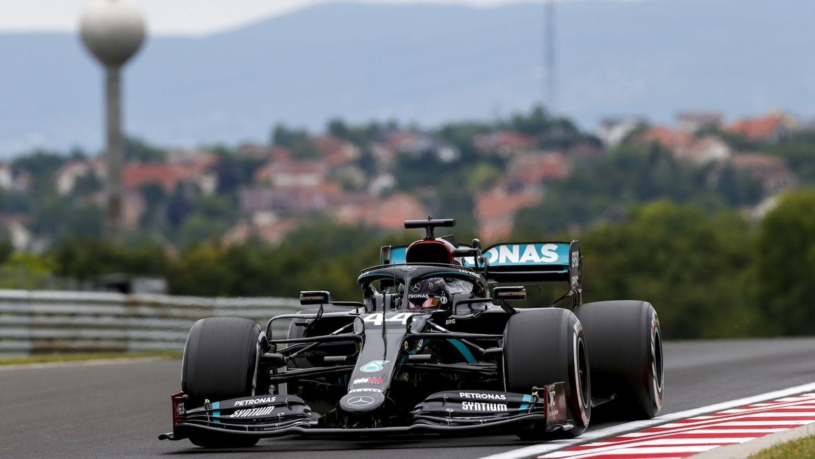 Formel 1: Hamilton holt Pole in Ungarn - Vettel Fünfter