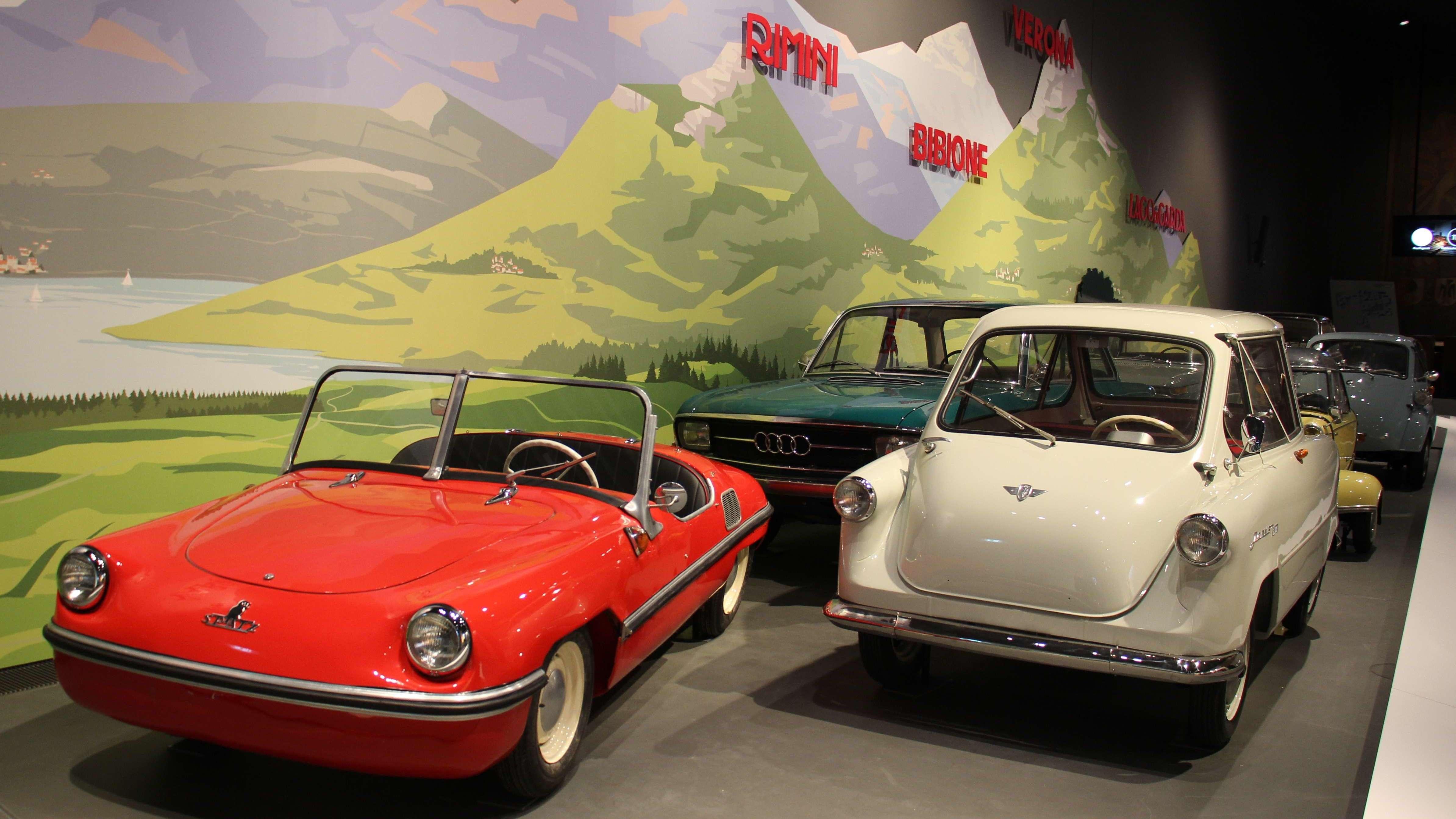 Foto aus der Ausstellung.