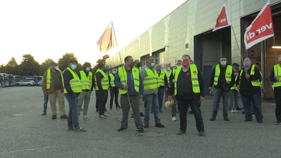 Streik der Busfahrer
