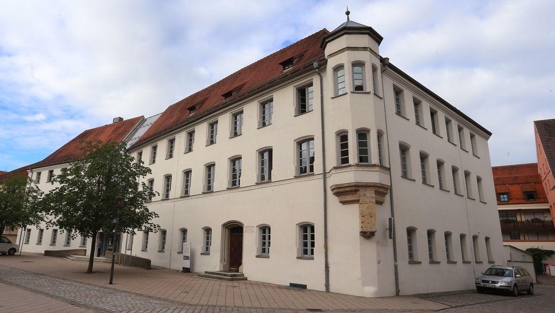 Das Landgericht Memmingen von außen