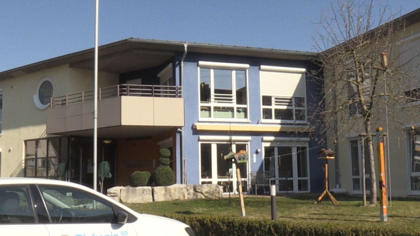 Die betroffene Pflegeeinrichtung in Harburg.