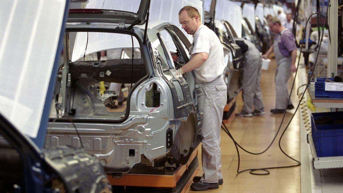 Audi-Werk in Ingolstadt
