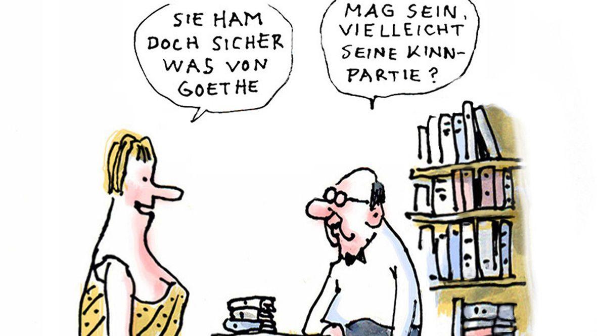 """""""Goethe"""" von Rudi Hurzlmeier (Ausschnitt)"""