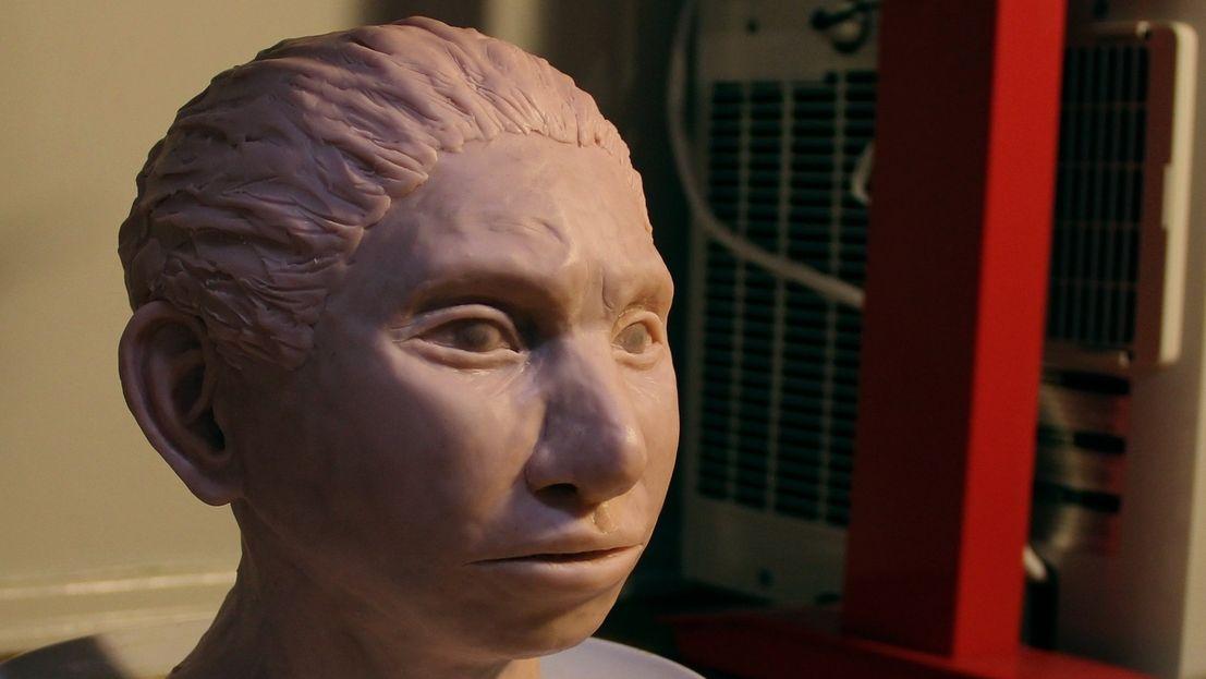 Rekonstruktion eines Denisova-Mädchens
