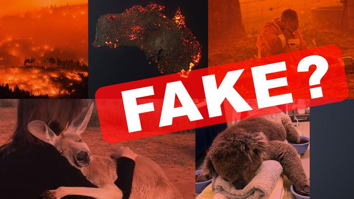 Veraltete Fotos, Animationen, Bilder aus den USA: Zahlreiche irrenführende Bilder zu den Buschbränden in Australien
