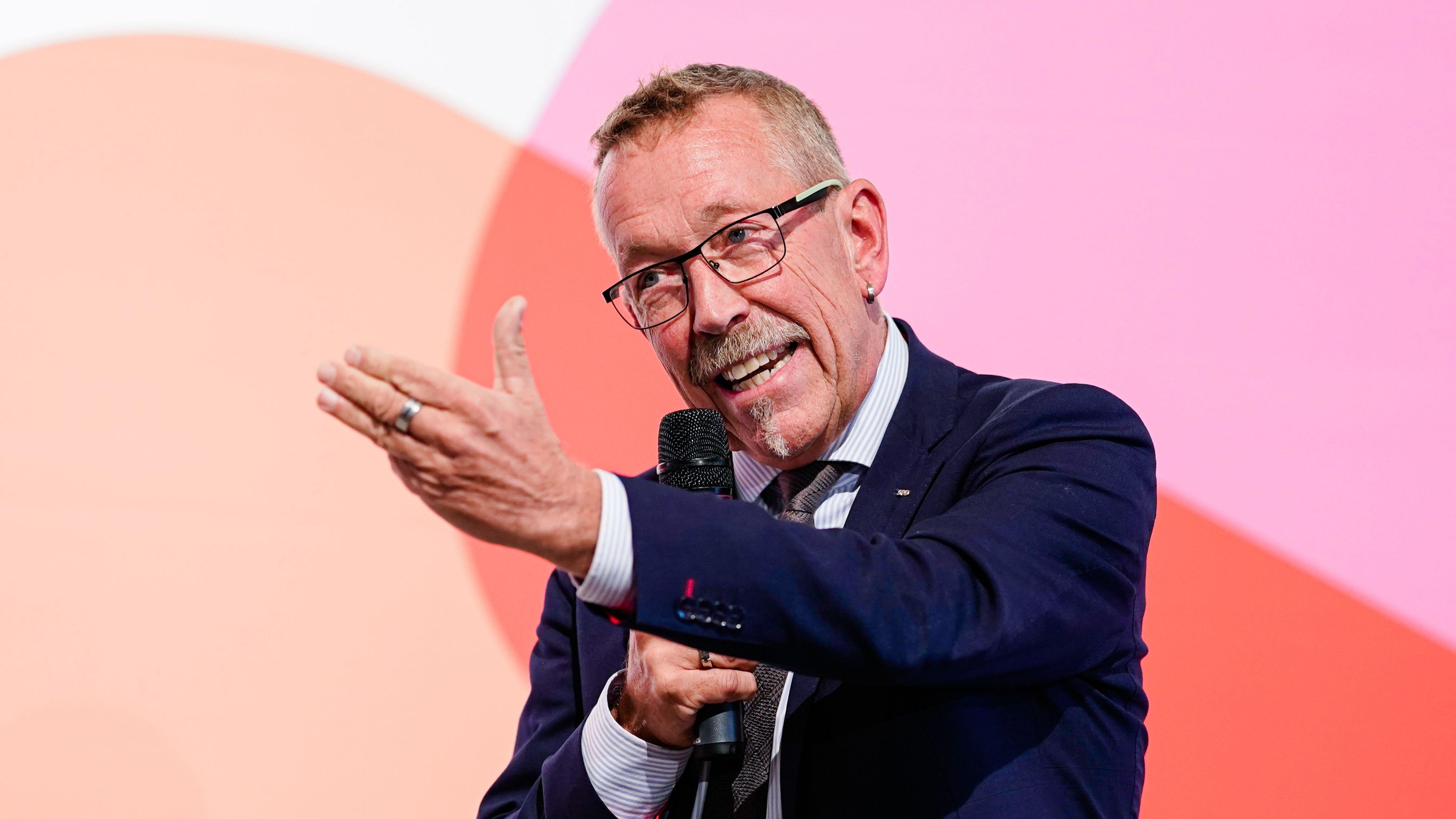 Der bayerische Abgeordnete Karl-Heinz Brunner