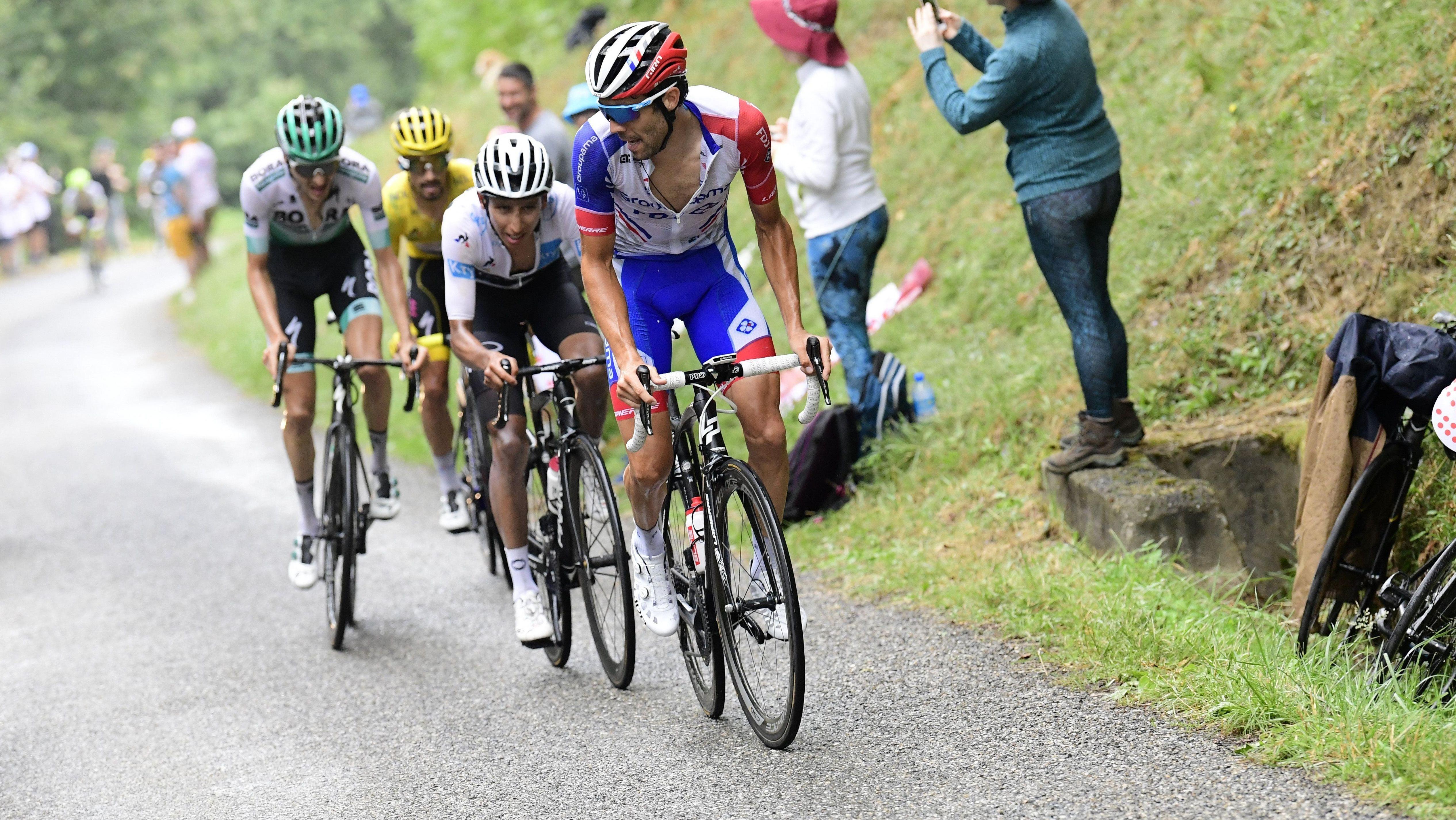 Radprofis bei der Tour de France 2019